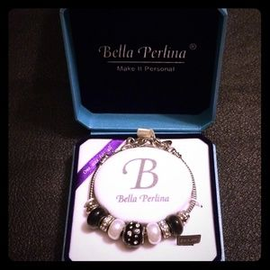 📿🎁Bella Perlina murano glass charm bracelet🎁📿